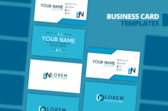 Download Free Simple Identity Business Card Template Graphic By for Cricut Explore, Silhouette and other cutting machines.