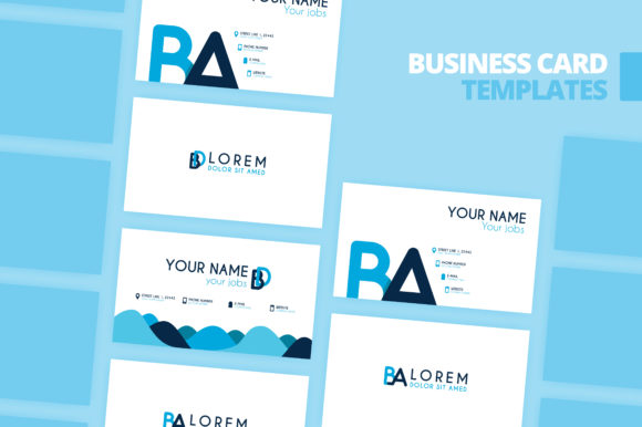 Download Free Simple Identity And Business Card Design Graphic By SVG Cut Files