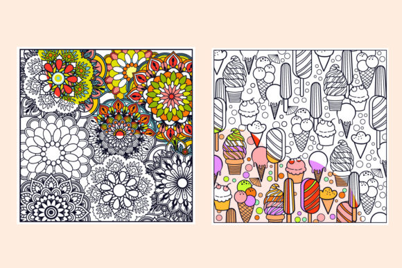 Print on Demand: Summer Coloring Bundle  Graphic Coloring Pages & Books Kids By tatiana.cociorva - Image 5