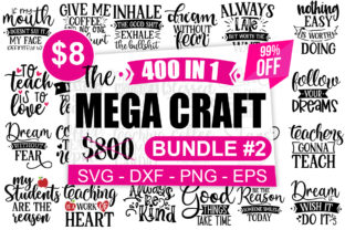 Print on Demand: The Mega Craft Bundle Vol #2 Bundle By Designdealy.com