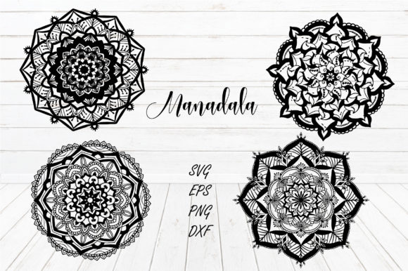Download Free Manadala Vector Graphic By Suda Digital Art Creative Fabrica for Cricut Explore, Silhouette and other cutting machines.