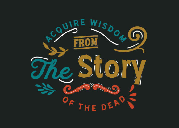 Download Free The Story Of The Dead Graphic By Baraeiji Creative Fabrica for Cricut Explore, Silhouette and other cutting machines.