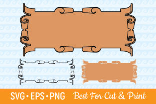 Download Free Banner Ribbon Label Scroll Text Box Graphic By Olimpdesign SVG Cut Files