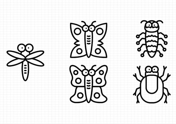 Download Free Bug And Insects Graphic By Gantengagif7 Creative Fabrica SVG Cut Files