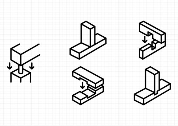 Carpentry Graphic Icons By gantengagif7