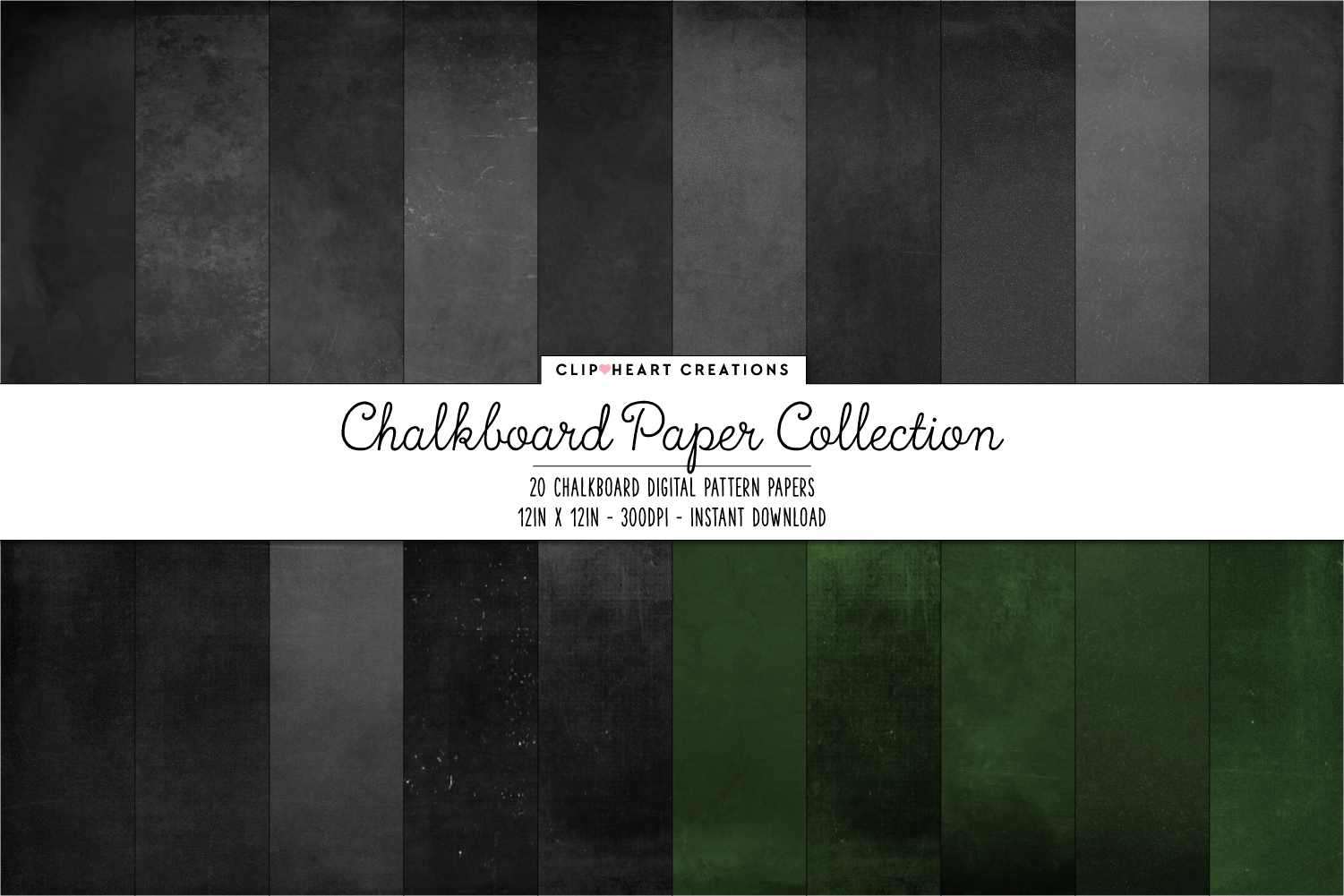 Download Free Chalkboard Papers Graphic By Clipheartcreations Creative Fabrica for Cricut Explore, Silhouette and other cutting machines.