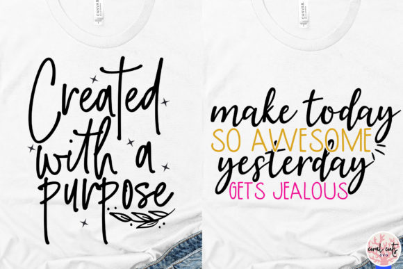 Download Free Inspirational Quote Bundle Graphic By Coralcutssvg Creative for Cricut Explore, Silhouette and other cutting machines.