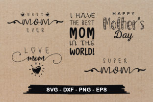 Download Free Mother S Day Design Bundle Mom S Graphic By Craftlabsvg SVG Cut Files