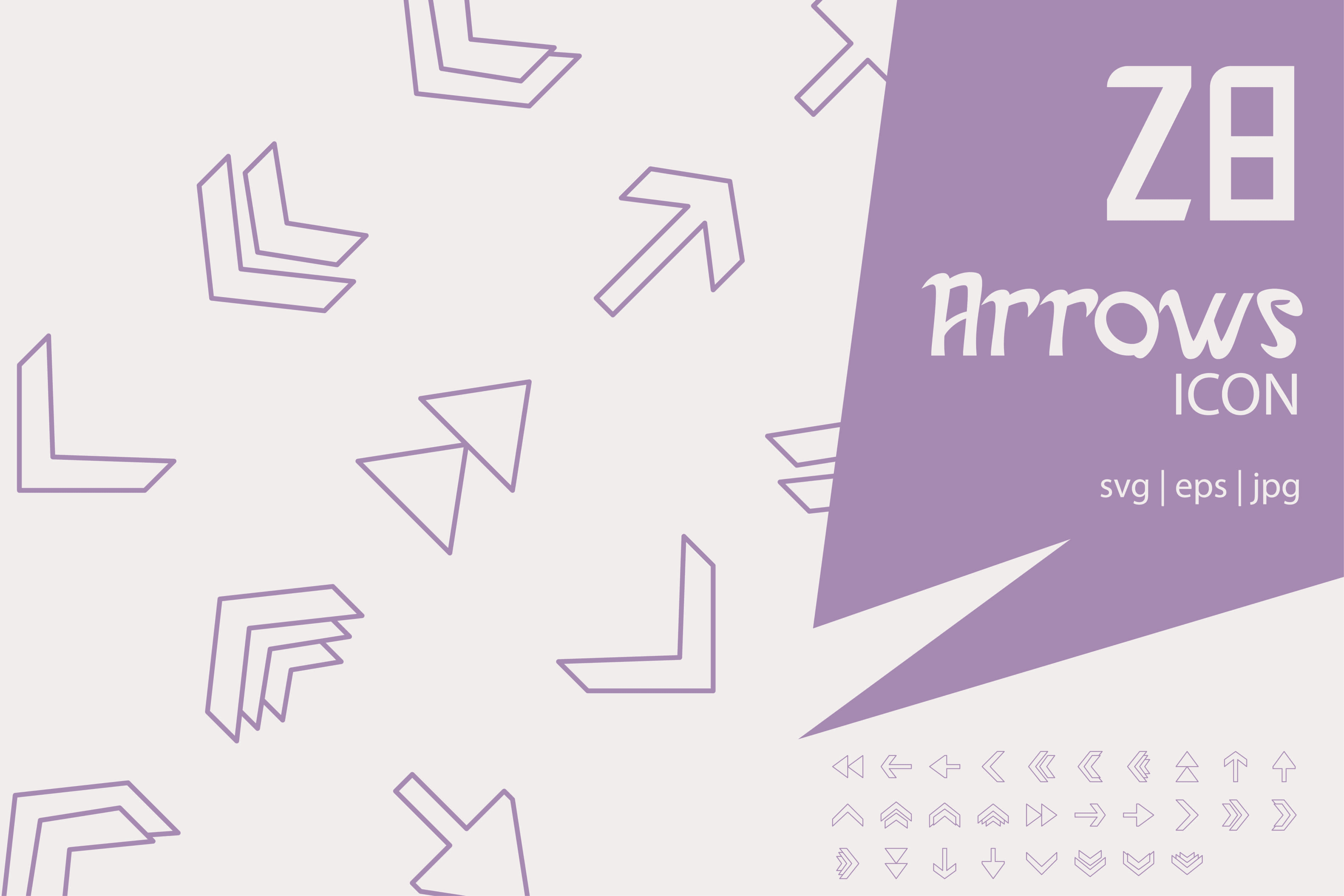 Download Free Arrows Graphic By Astuti Julia92 Creative Fabrica for Cricut Explore, Silhouette and other cutting machines.
