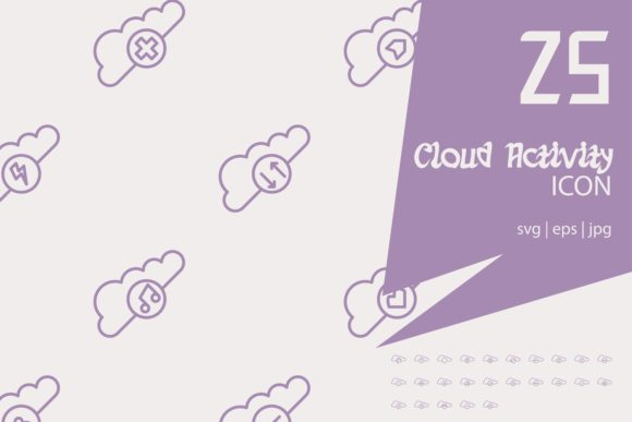 Cloud Activity Graphic By Astuti Julia92 Creative Fabrica