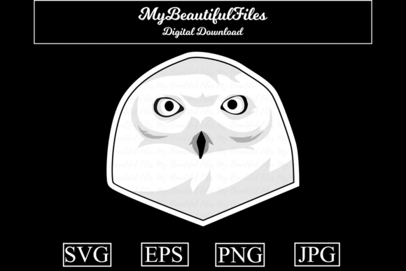 Download Free Owl Lineart Graphic By Mybeautifulfiles Creative Fabrica for Cricut Explore, Silhouette and other cutting machines.