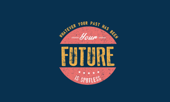 Download Free Whatever Your Past Has Been Your Future Graphic By Baraeiji for Cricut Explore, Silhouette and other cutting machines.