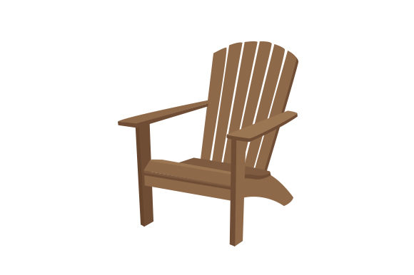 Adirondack Chair Nature & Outdoors Craft Cut File By Creative Fabrica Crafts