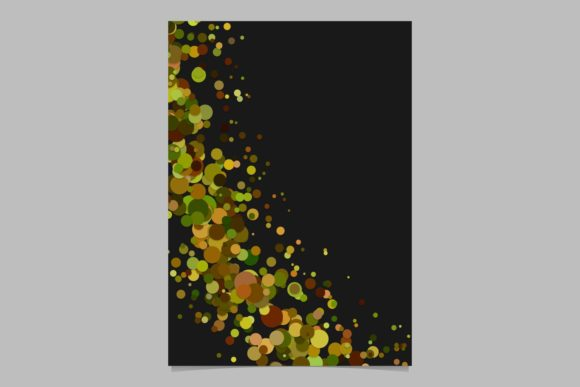 Abstract Brochure Background Graphic By Davidzydd Creative Fabrica