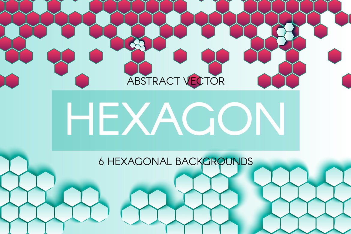Download Free Abstract Hexagonal Backgrounds Graphic By Barsrsind Creative for Cricut Explore, Silhouette and other cutting machines.