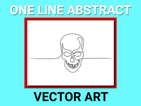 Download Free Abstract Human Skull Drawing Vector Graphic By Anrasoft for Cricut Explore, Silhouette and other cutting machines.