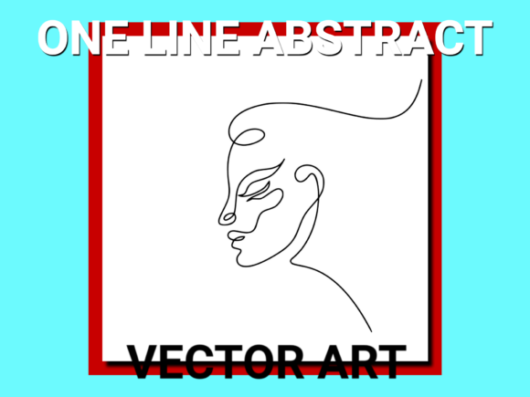 Download Free Abstract Woman Face Vector Grafico Por Anrasoft Creative Fabrica for Cricut Explore, Silhouette and other cutting machines.