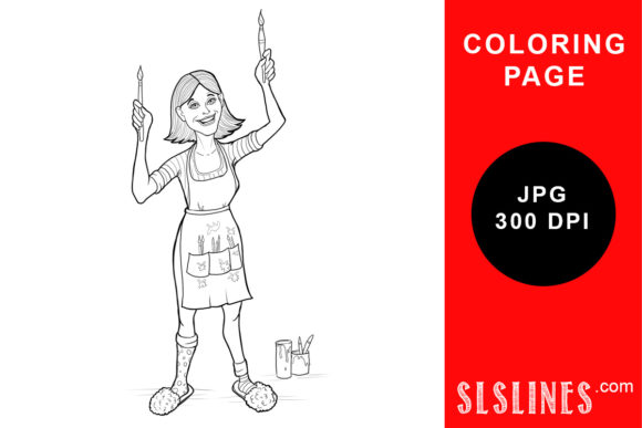 Girl Flowers Antistress Coloring Page Images, Stock Photos & Vectors |  Shutterstock | 387x580