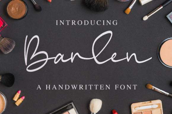 Print on Demand: Barlen Script & Handwritten Font By Blankids Studio