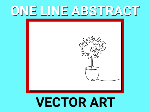 Download Free Blooming Tree In Pot Drawing Vector Graphic By Anrasoft for Cricut Explore, Silhouette and other cutting machines.