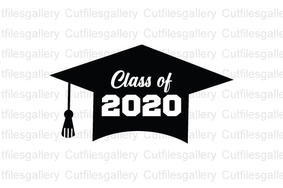 Download Free Class Of 2020 Graduation Graphic By Cutfilesgallery Creative for Cricut Explore, Silhouette and other cutting machines.