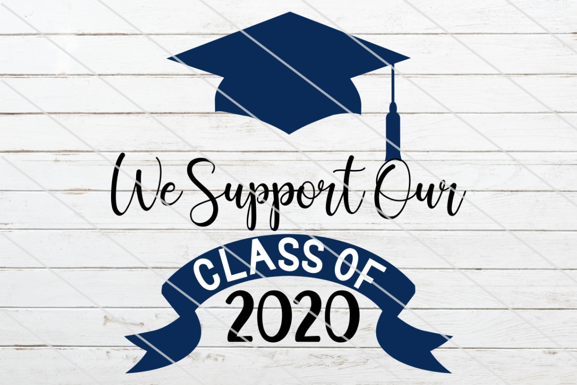 Download Free Class Of 2020 Graphic By Amy Anderson Designs Creative Fabrica for Cricut Explore, Silhouette and other cutting machines.
