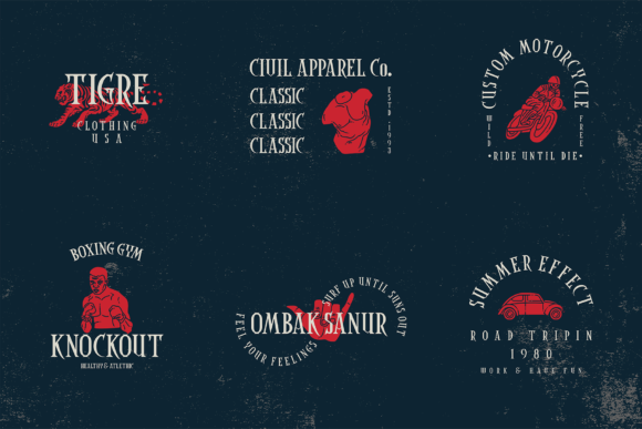 Coaster Ghost Font Preview
