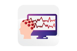 Download Free Eeg Electroencephalography Icon Graphic By Samagata Creative for Cricut Explore, Silhouette and other cutting machines.
