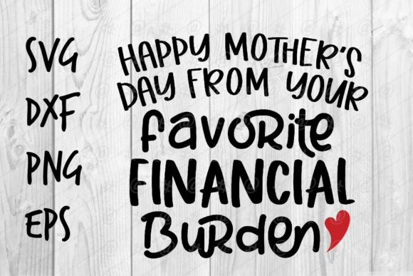 Download Free Favorite Financial Burden Graphic By Spoonyprint Creative Fabrica for Cricut Explore, Silhouette and other cutting machines.