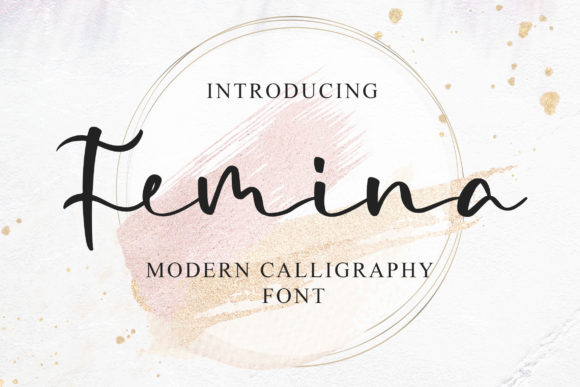 Print on Demand: Femina Script & Handwritten Font By Blankids Studio