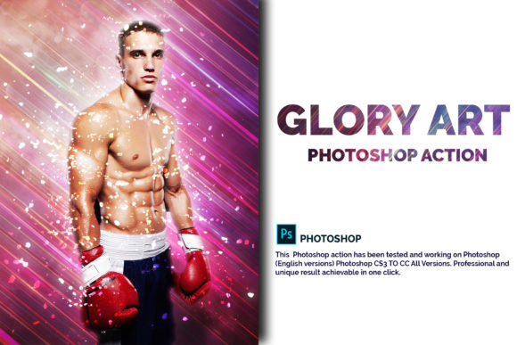Glory Art Photoshop Action Graphic Actions & Presets By jubair_haider