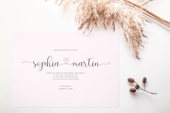 Print on Demand: Hello Olive Script & Handwritten Font By fanastudio - Image 2