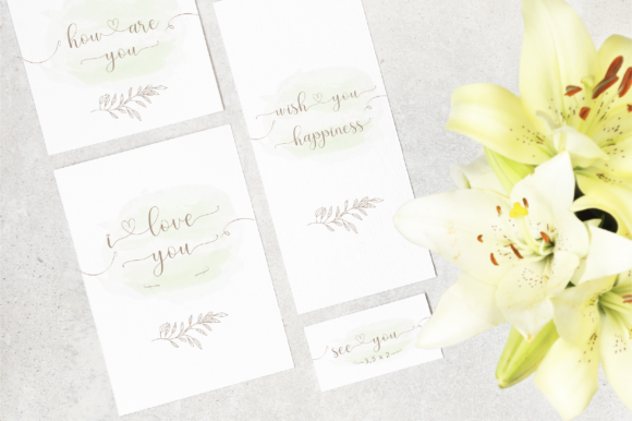 Print on Demand: Hello Olive Script & Handwritten Font By fanastudio - Image 7