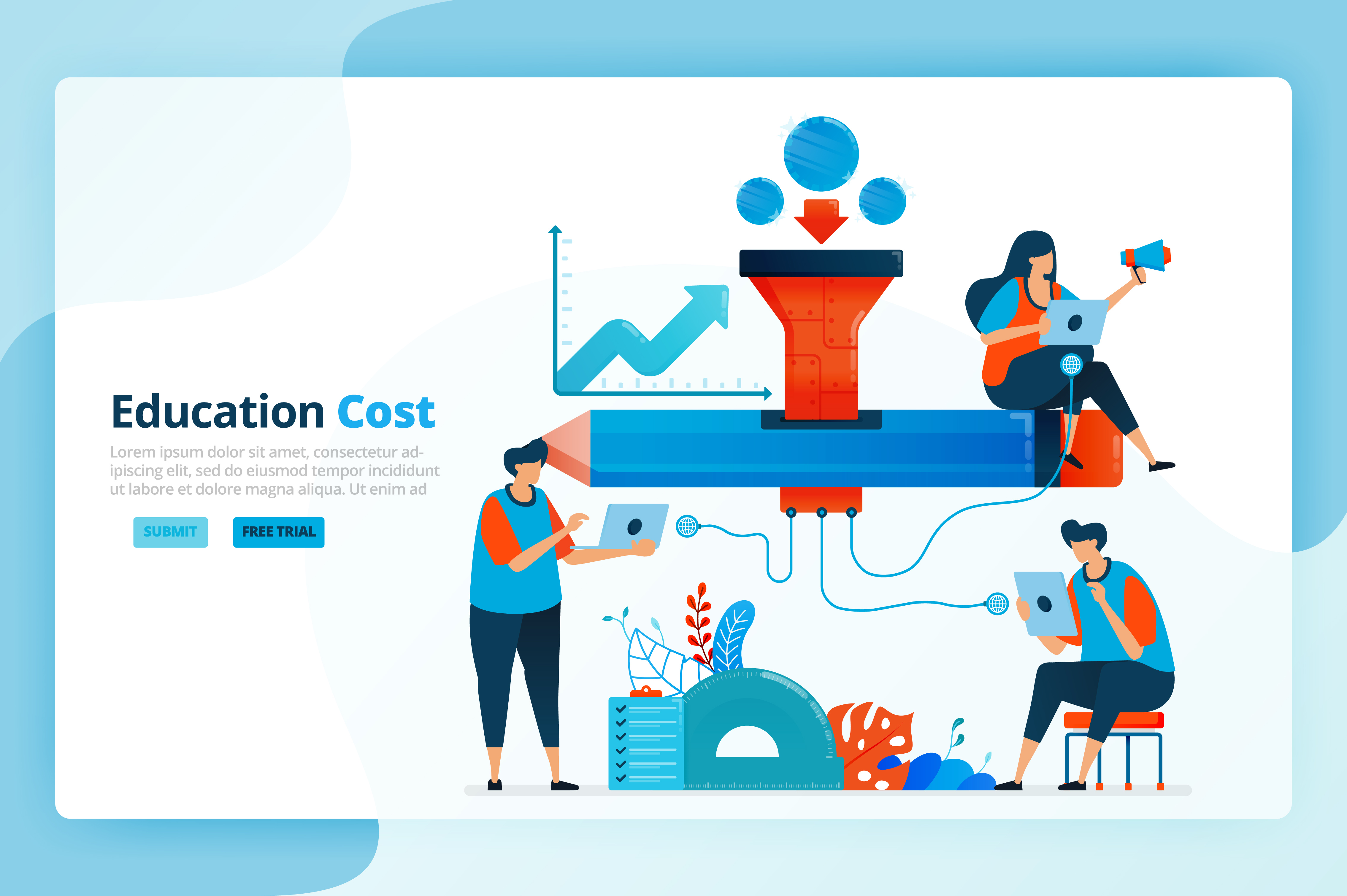 Download Free Illustration Of Education Scholarship Graphic By for Cricut Explore, Silhouette and other cutting machines.