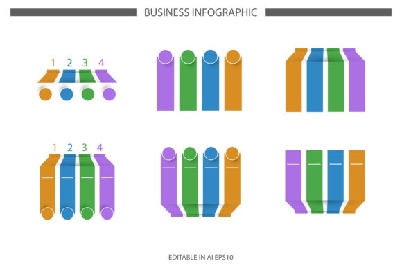 Infographic Template Set Graphic Infographics By msholicha9
