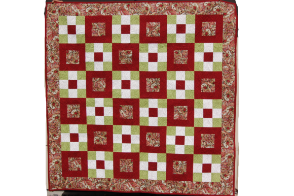 Irish Square Dance Quilt Pattern Graphic Quilt Patterns By F. Calvert Creations - Image 1