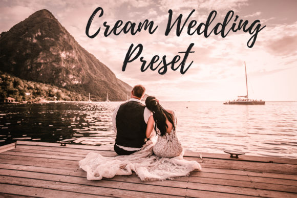Print on Demand: Lightroom Presets - Cream Wedding Graphic Actions & Presets By MyBeautifulFiles