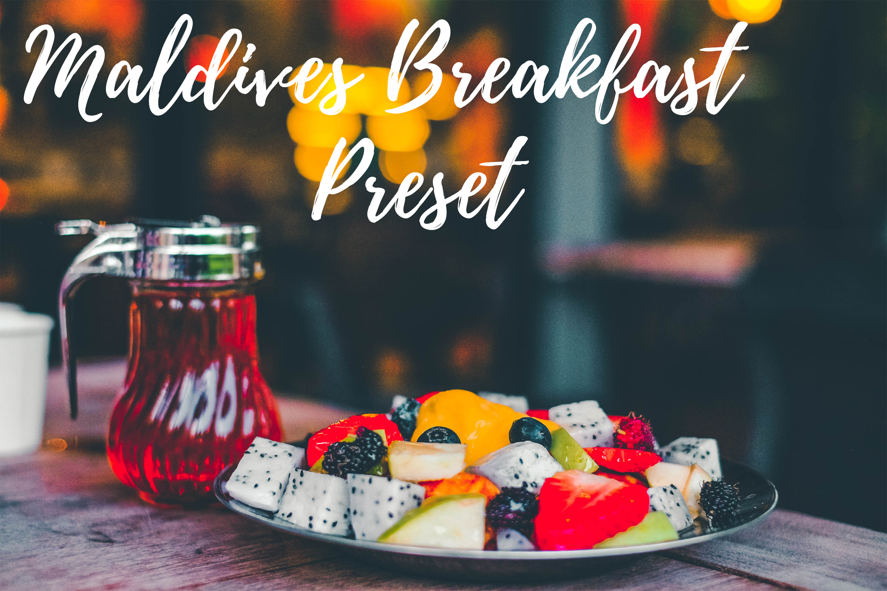 Download Free Lightroom Presets Maldives Breakfast Graphic By for Cricut Explore, Silhouette and other cutting machines.