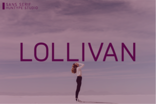 Download Free Lollivan Font By Huntype Creative Fabrica for Cricut Explore, Silhouette and other cutting machines.