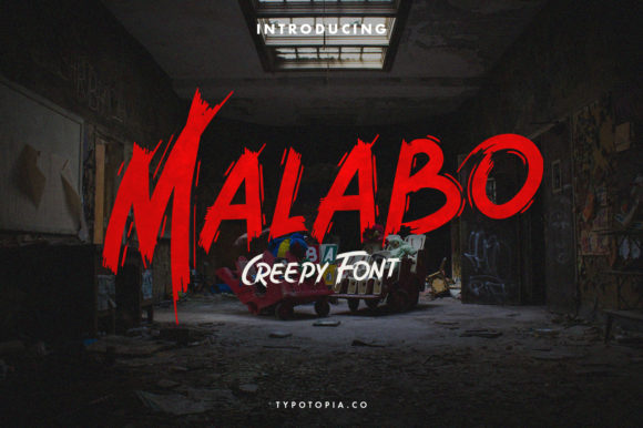 Print on Demand: Malabo Display Font By typotopia