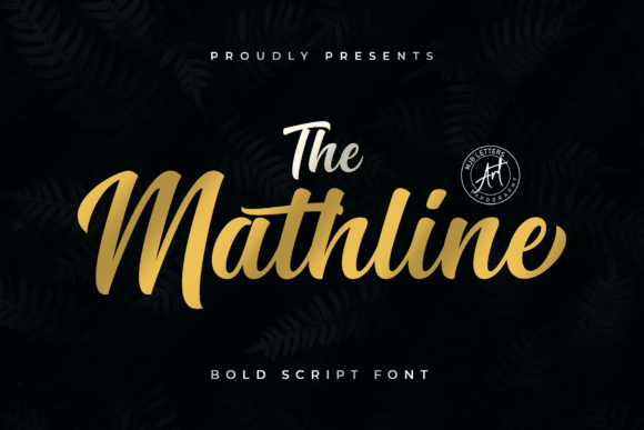 Download Free Mathline Font By Mjb Letters Creative Fabrica for Cricut Explore, Silhouette and other cutting machines.