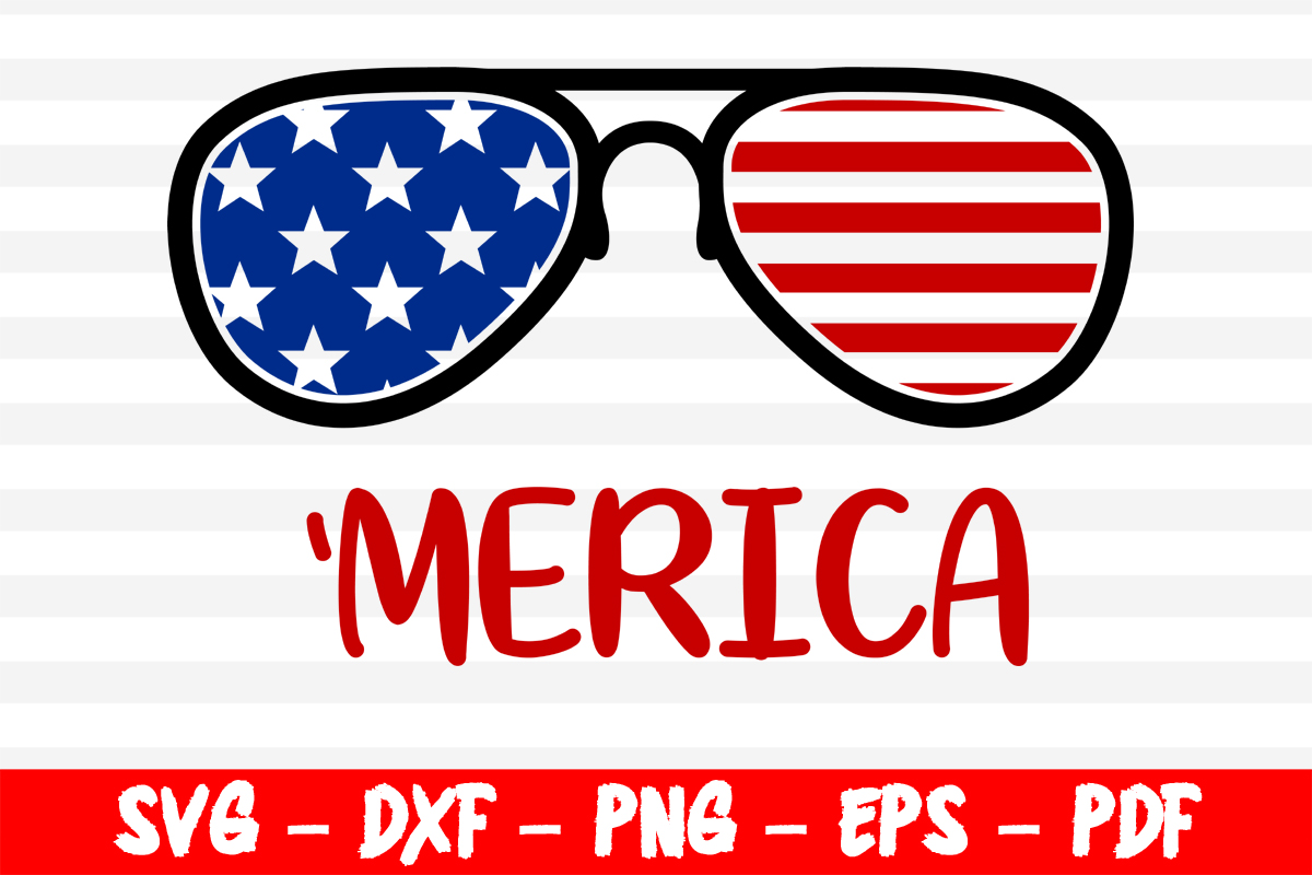 Download Free Merica 4th Of July Graphic By Bestsvgfiles Creative Fabrica for Cricut Explore, Silhouette and other cutting machines.