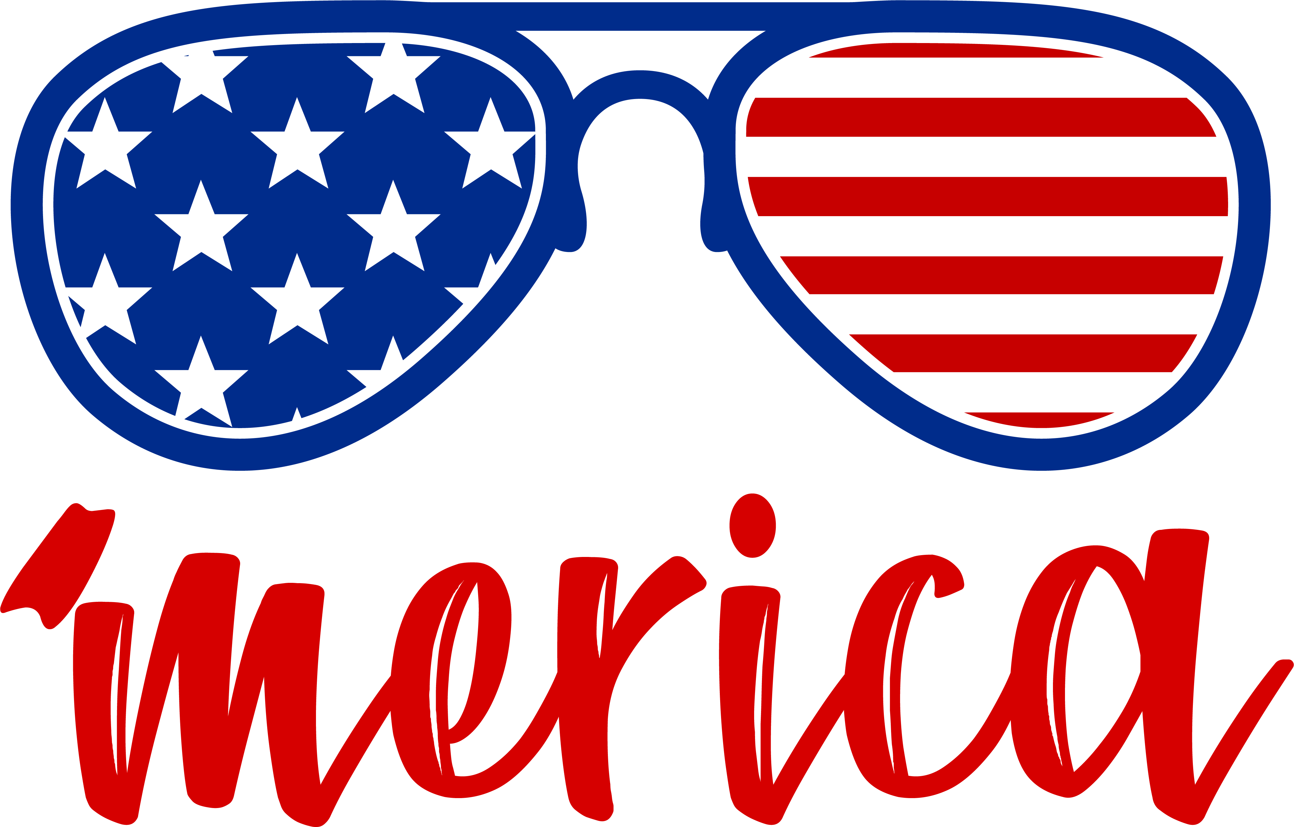 Download Free Merica 4th Of July Independence Day Graphic By Bestsvgfiles for Cricut Explore, Silhouette and other cutting machines.