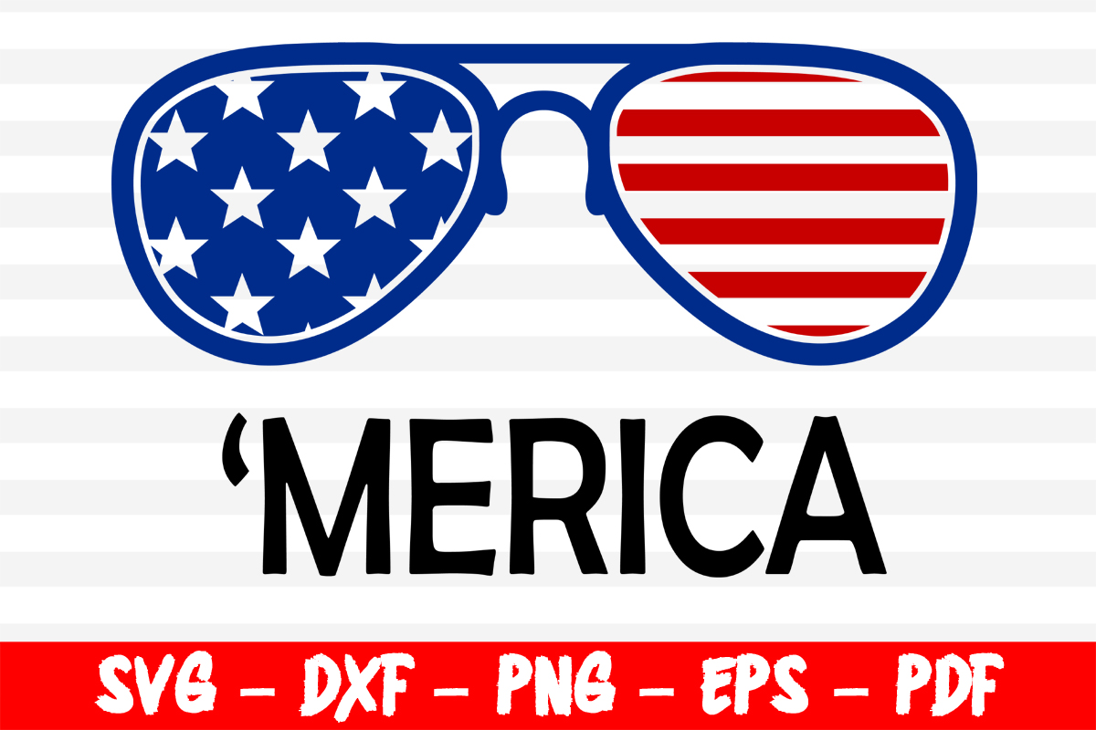 Download Free Merica 4th Of July Patriotic Graphic By Bestsvgfiles for Cricut Explore, Silhouette and other cutting machines.