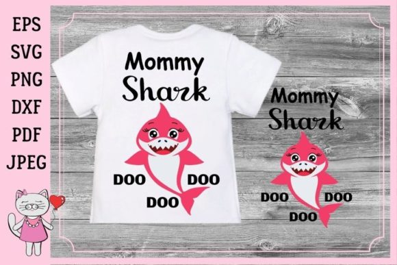 Print on Demand: Mommy Shark Files, Mommy Graphic Illustrations By  Magic world of design