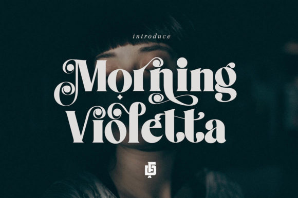 Download Free Morning Violetta Font By Ramandhaninugraha Creative Fabrica for Cricut Explore, Silhouette and other cutting machines.
