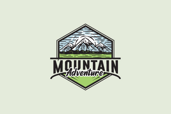 Download Free Mountain Adventure Logo Design Graphic By Burhan Bn006 for Cricut Explore, Silhouette and other cutting machines.