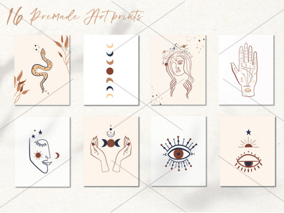 Mystical Collection Pattern & Clipart Graphic Illustrations By EssentiallyNomadic - Image 8
