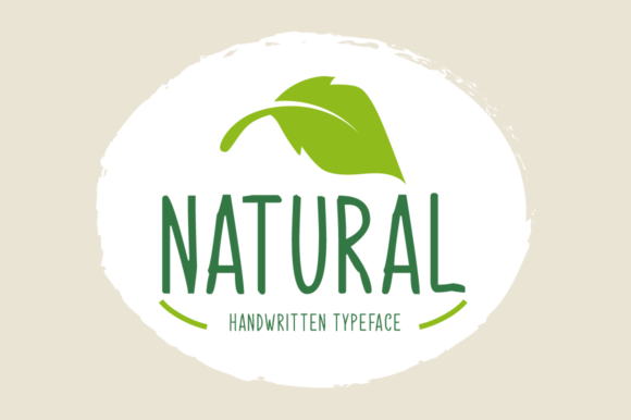 Print on Demand: Natural Display Font By Seemly Fonts