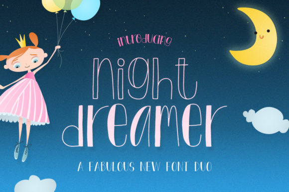 Download Free Night Dreamer Font By Salt Pepper Designs Creative Fabrica for Cricut Explore, Silhouette and other cutting machines.